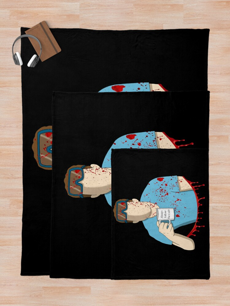 Alternate view of Follow the code Throw Blanket