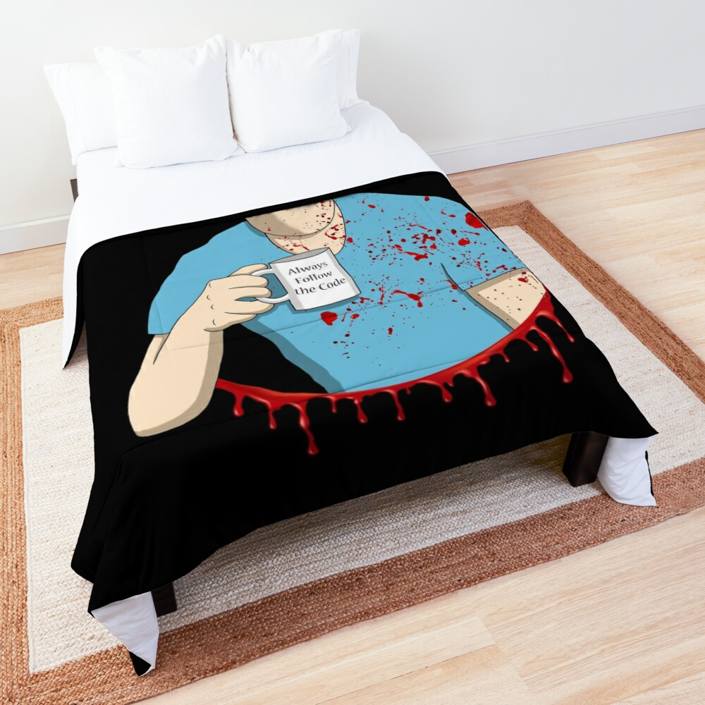 Follow the code Comforter