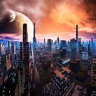 Futuristic and Alien Cities  by Angela Harburn