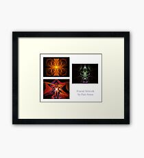 Apophysis Flame Pack Front Page Framed Print