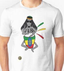 Rasta in Ethiopia Unisex T-Shirt