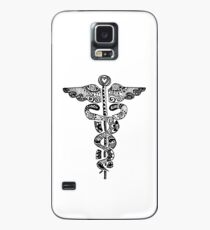 Registered Nurse Zentangle Hülle & Klebefolie für Samsung Galaxy