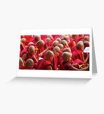 Bodh Gaya II Greeting Card