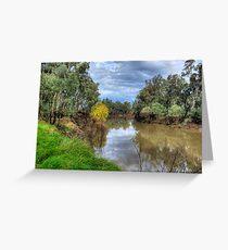 Goulburn River Greeting Card