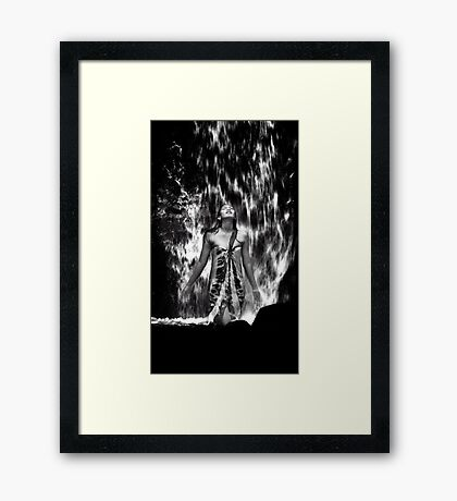 Interflow Framed Print