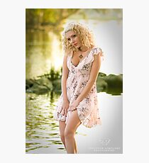 Lady of the lake... Photographic Print