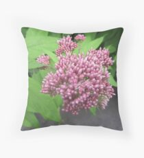 A Sprig of Purple Throw Pillow