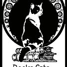 Books,Cats,life is good by Doris Redrupp