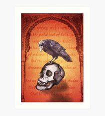 Nevermore Kunstdruck