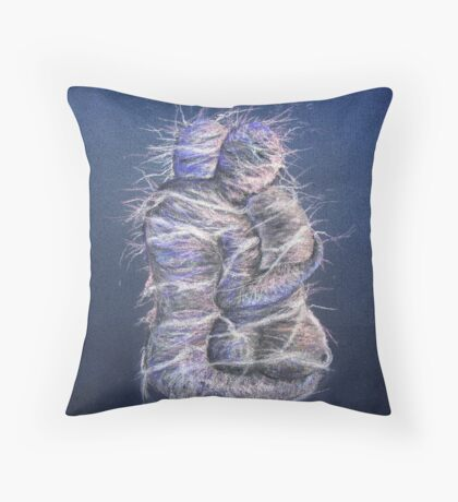 Wrapped Up In Each Other Throw Pillow