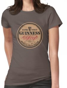 Old Style Guinness Logo - David Gilmour Womens Fitted T-Shirt