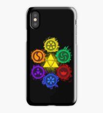 Legend of Zelda - Ocarina of Time - The 6 Sages iPhone Case