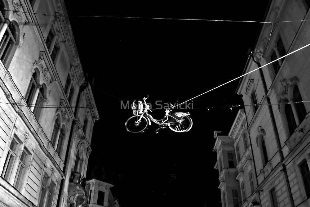 Bicycle On A Wire by Mojca Savicki
