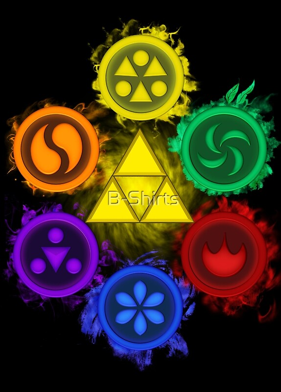 Quot Legend Of Zelda Ocarina Of Time The 6 Sages Quot Posters