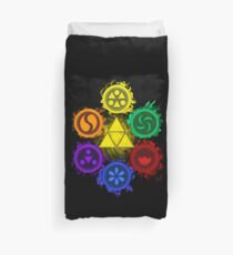 Legend of Zelda - Ocarina of Time - The 6 Sages Duvet Cover