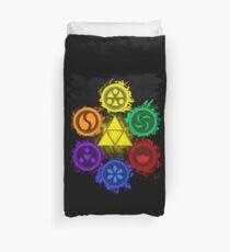 Legend of Zelda - Ocarina of Time - The 6 Sages Duvet Cover