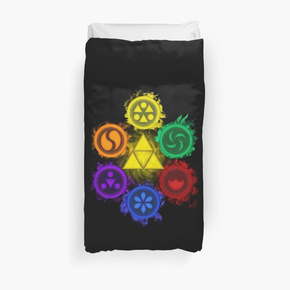 Legend of Zelda - Ocarina of Time - The 6 Sages Bettbezug