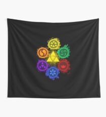 Legend of Zelda - Ocarina of Time - The 6 Sages Wall Tapestry