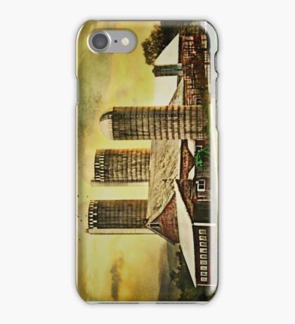 At the Farm iPhone Case/Skin