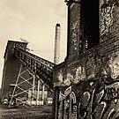 Abandoned Factory - Exterior by Colin  Ewington
