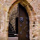 The Door at Castle Beaufort by Gayle Dolinger