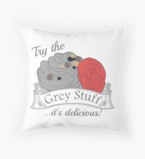 Try the Grey Stuff Throw Pillow