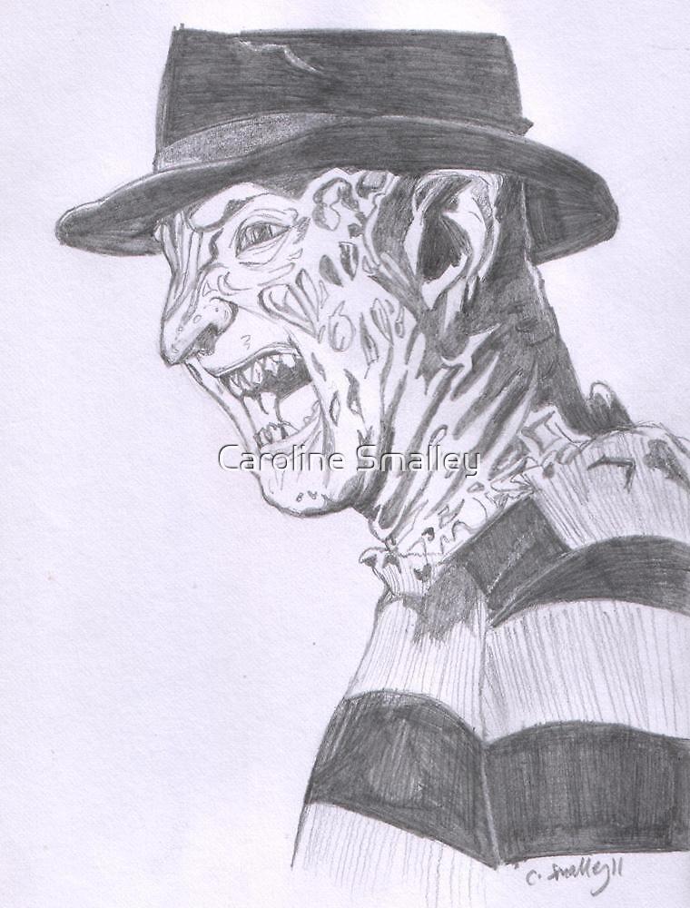 Freddy Krueger by Caroline Smalley