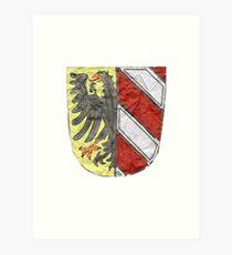 NUE Wappen Art Print