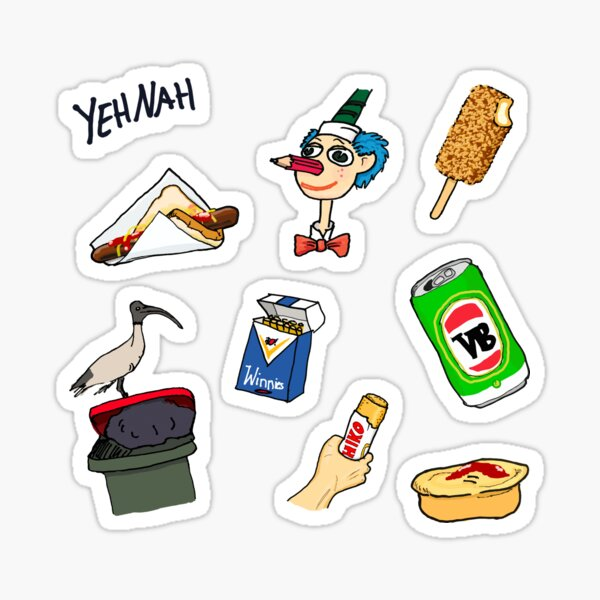 Straya Stickers Collection 01 - The Classics Sticker