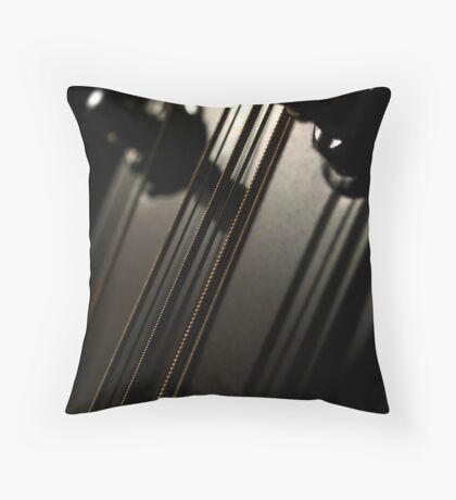 Tightly Strung Throw Pillow