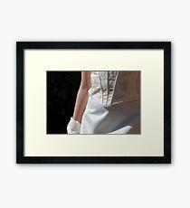 Silky Framed Print
