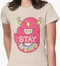 STAY WEIRD! Women's Fitted T-Shirt