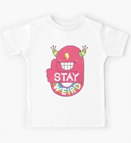 STAY WEIRD! Kids Clothes