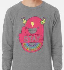STAY WEIRD! Lightweight Sweatshirt