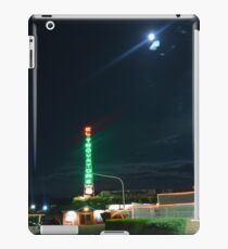 Motel in the moonlight iPad Case/Skin