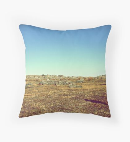 chasing time in flooded memories Throw Pillow