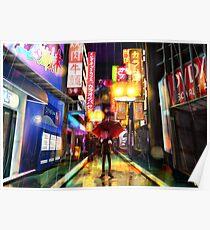 Persona 5 - Overworld Shibuya Poster