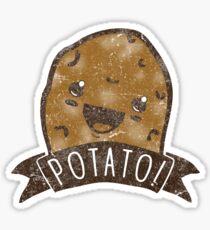 POTATO!!! Sticker