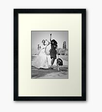 Oh, Happy Day Framed Print