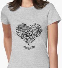 Yoga Heart Namaste Om T-Shirt