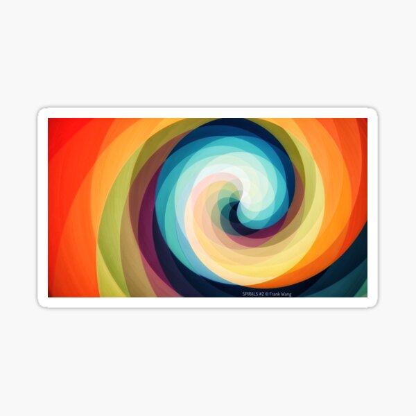 Spirals 1 Sticker
