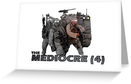 The Mediocre Four by Jonathan  Woodyard