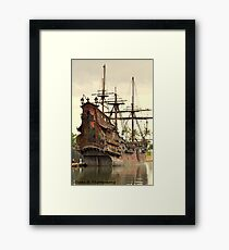 pirates. Framed Print