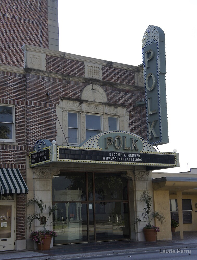 Polk Theatre by Laurie Perry