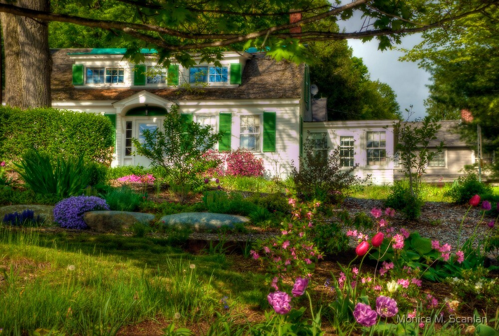 Springtime in Peterborough by Monica M. Scanlan