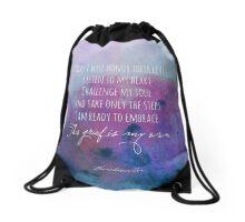 I will honor their lives Drawstring Bag