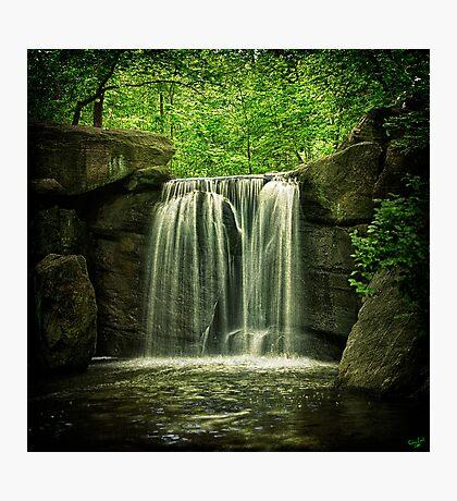 New York City Waterfall! Photographic Print