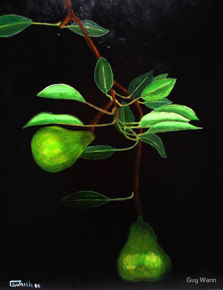 Pear of pears by Guy Wann