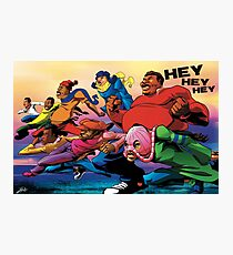 Fat Albert and the Gang Ready for battle Photographic Print