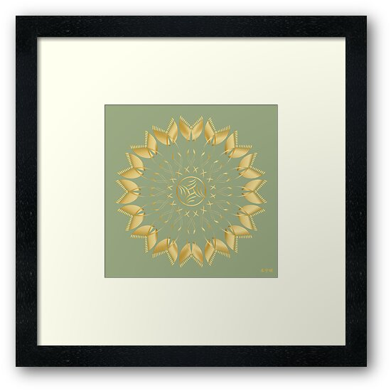 Mandala No. 62 by AlanBennington